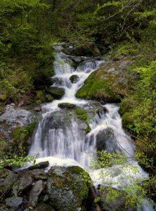 熊本県下益城郡美里町の内大臣の滝
